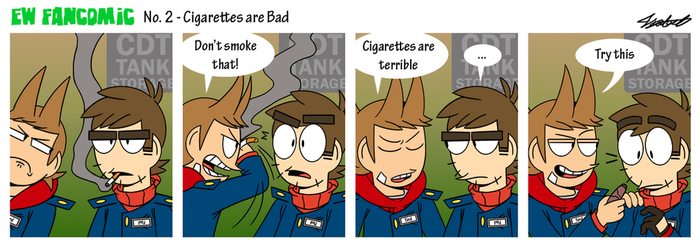 Cigarettes are Bad by PatsyBelle