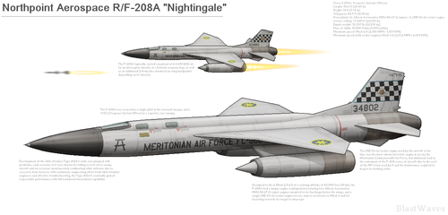 Northpoint Aerospace RF-208A Nightingale by BlastWaves