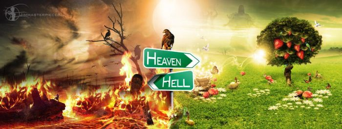 heaven or hell ? by Jimmasterpieces