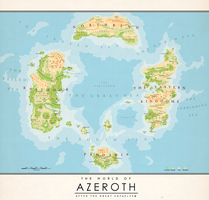 The World of Azeroth (2) by Kuusinen