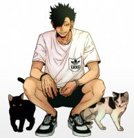 Tiny Kuroo Coloring Thing~ by Captain-Sexay