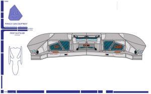USS PERSEUS Shuttle Bay - Front Section by LillithsBernard