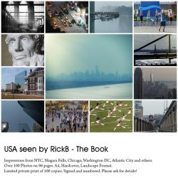 USA seen by RickB - The Book by RickB500