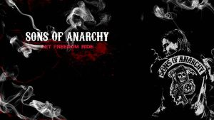 Sons of Anarchy Wall 2 by TheGunnerz