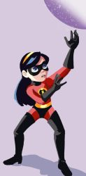 Violet Parr by SarcasticLeaves