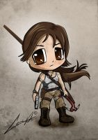 Chibi Tomb Raider Reboot by ledacroft