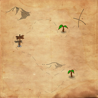 Free Treasure Map Background by nuugraphics