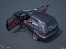 VW Golf 3 GTI 20 by cipriany