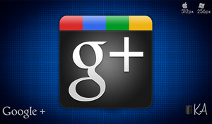 Google + Icon by AaronOlive
