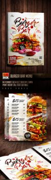 Burger Bar Menu by AndyDreamm