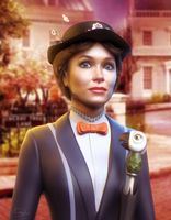 Mary Poppins by AEmiliusLives