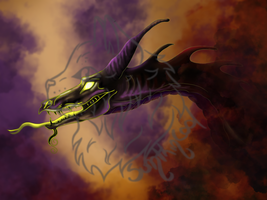 Maleficent by Sumthinkool