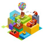 Pixar Isometric by utria