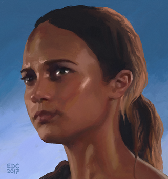 Alicia Vikander by EDC-ART