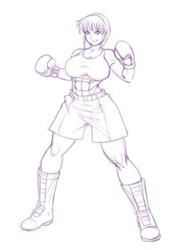 Windy Professional Boxing Gear WIP by deadpoolthesecond