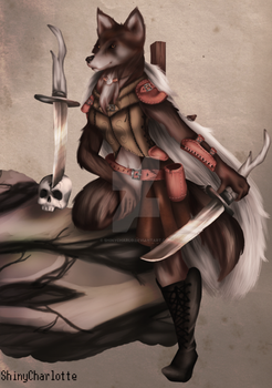 Wolf Mage Killer (Commission)