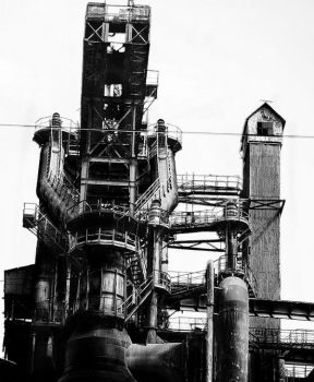 Old steelworks of Resita town by 2orb