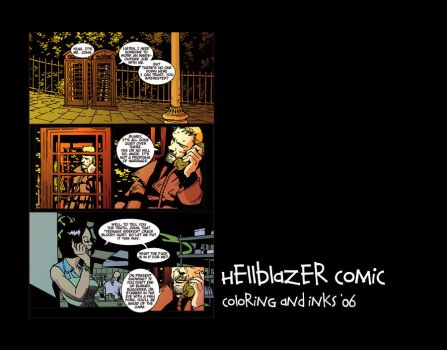 Hellblazer Colors by ixis