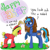 MLP: Happy Easter!! by Elmer157Typhlosion