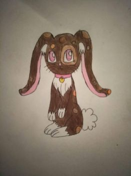 Brownie the cabbit by Chenoasparkle