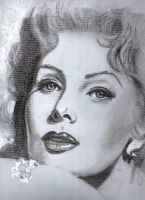 Rhonda Fleming by Pidimoro