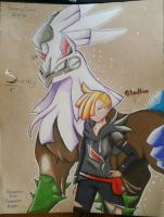 Gladion and Silvally by Awesomestar2002