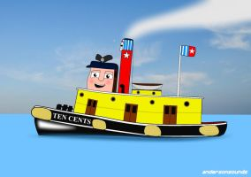 TUGS - Ten Cents by andersonsounds