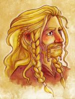 Fili Portrait by nerdeeart