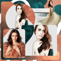 Png Pack 743 // Lily Collins by confidentpngs