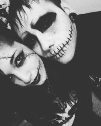 Jack and Sally. by Frankienstein