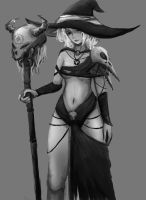 Witch by artevoletia