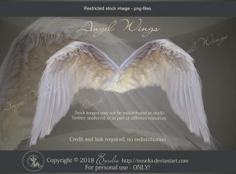 AngelWings - psd-files by Euselia