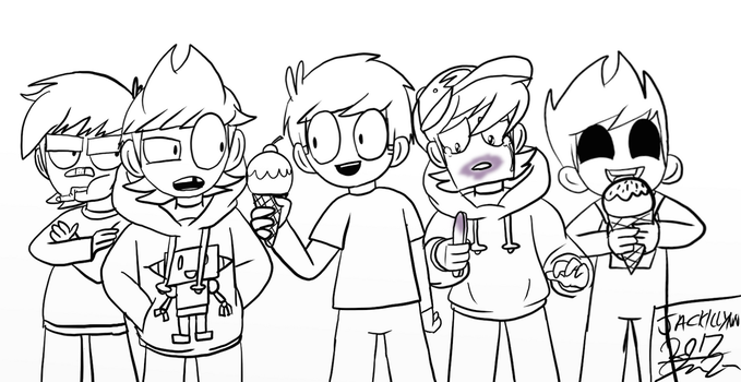 Concept Art - EW boys by Eddsworld-tbatf