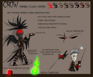 CROW Reference Sheet by ghxstlly