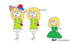Humanised Little Miss Splendid by OffClaireBlue2001