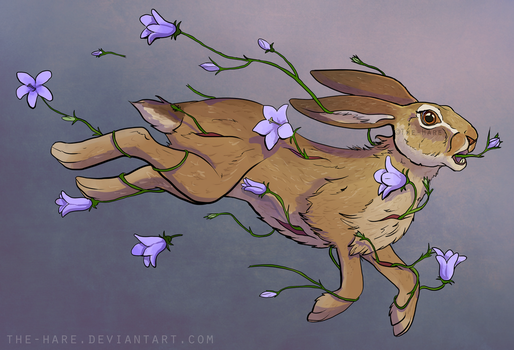 There Were Flowers Running Through My Hare by The-Hare