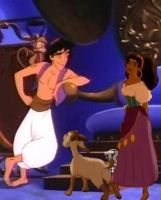 Esmeralda and Aladdin couple crossover by ILoveAnimeAndDisney
