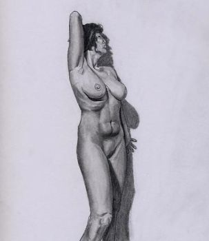 Figure Drawing no. 197 by TheSymbiote