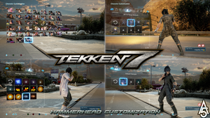 Tekken 7 - Hammerhead Customization - Mod by a5tronomy