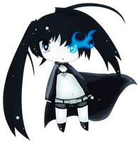 Black Rock Shooter Chibi by janno-arts