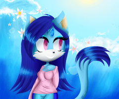 :COMM: Ocean The Cat by Zyanthya951