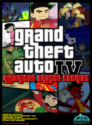 American Dragon gone GTA:IV by SPRacersDragon