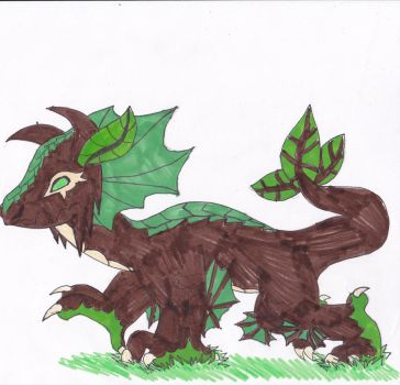 Earth Dragon by theMidnghtWolfStar