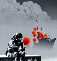 A large value of red hued air spheres go forth by Masterlegodude
