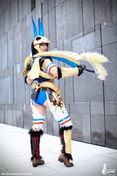 Bone S Armor Soubi - Monster Hunter Cosplay by Evil-Siren