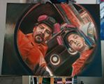Breaking Bad  portrait by Tibb-the-Artist