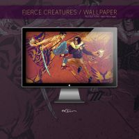 Fierce Creatures Wallpaper by mmacklin
