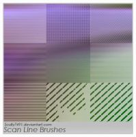 Scan Line Brushes by Scully7491