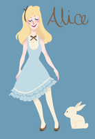Lineless Alice by wondernez