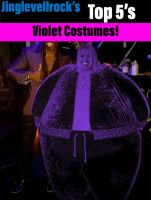 Best violet Costumes! by Jinglevellrock